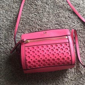 Kate Spade coral crossbody small handbag